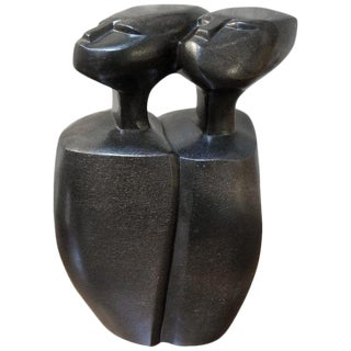 Stone Sculpture by Nicholas Mukomberanwa For Sale