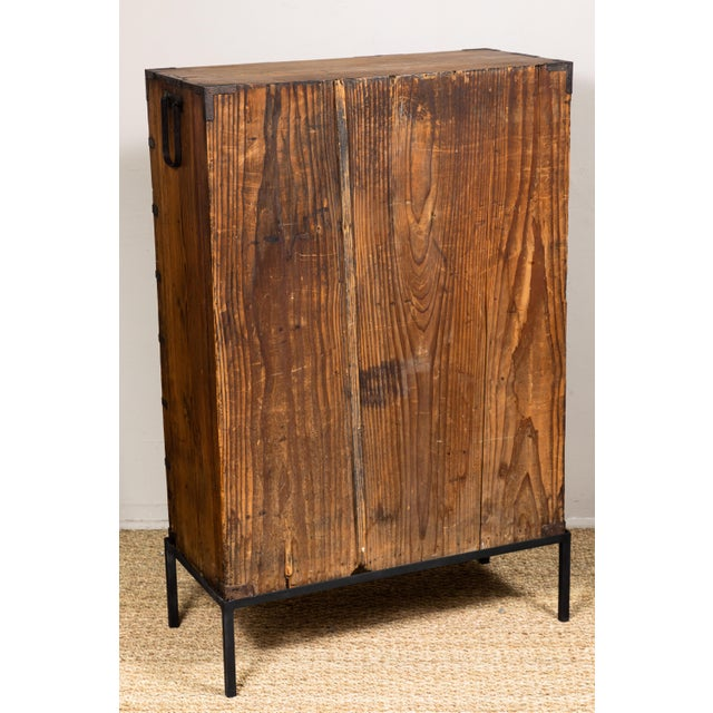 Antique Japanese Tansu For Sale - Image 9 of 10