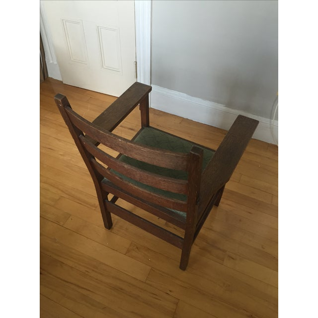 Gustav Stickley Antique Side Chair - Image 7 of 7