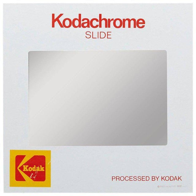 Think Big! Kodachrome Slide Mirror With Integrated Cabinet, 1980's For Sale - Image 9 of 9