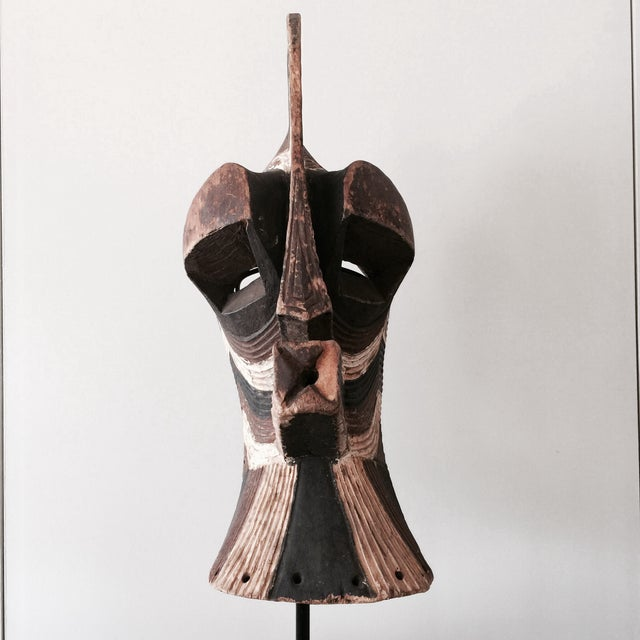 "Songeye Kiwebe ""Police"" Mask 4 - Image 4 of 4"