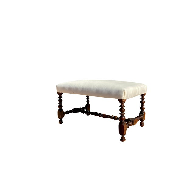 Flemish Baroque Walnut Benches - a Pair For Sale In Boston - Image 6 of 8