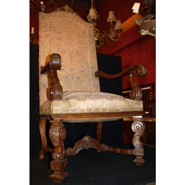 Antique Armchairs - Image 2 of 9