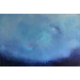 Modern Abstract Acrylic on Canvas by C. Damien Fox. For Sale