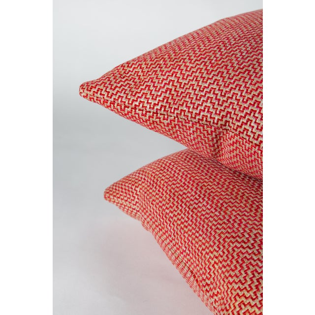 """Hollywood Regency 22"""" Schumacher Orwell Pillows, Pair For Sale - Image 3 of 6"""