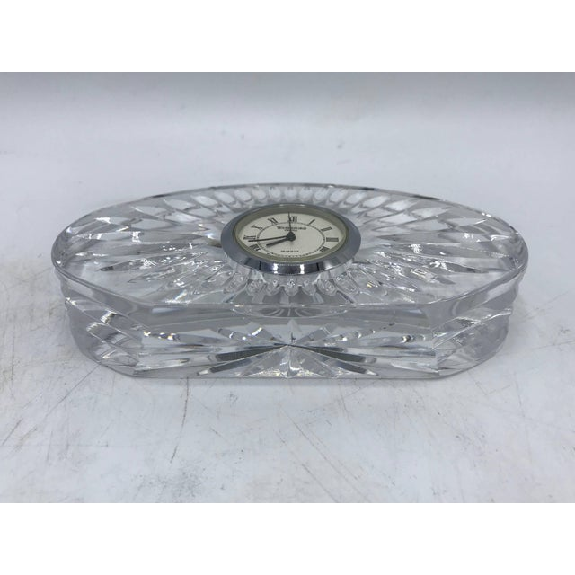 1980s Waterford Crystal Desk Clock For Sale In Richmond - Image 6 of 9