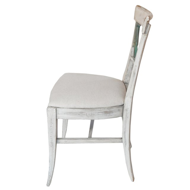 Set of Four Gustavian Style Chairs For Sale - Image 10 of 10