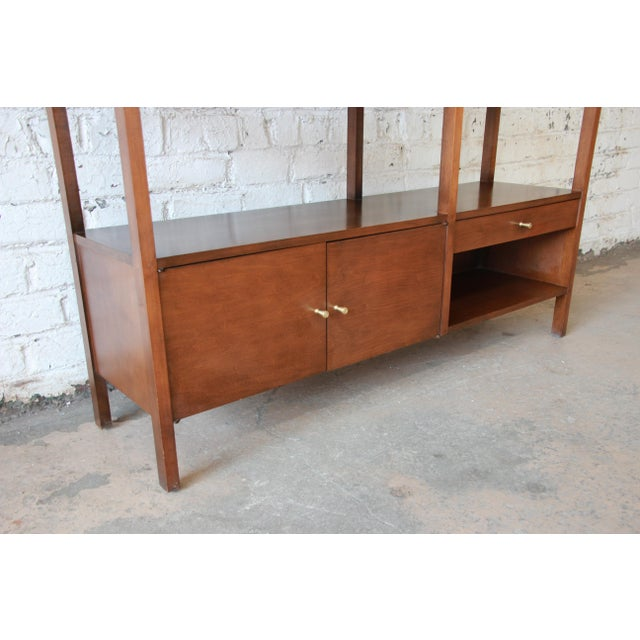 Paul McCobb Planner Group Mid-Century Wall Unit or Room Divider For Sale In South Bend - Image 6 of 11
