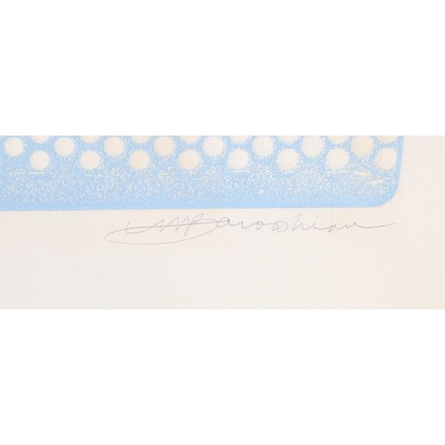 "Martin Barooshian, ""Neptune,"" Intaglio Etching - Image 2 of 2"