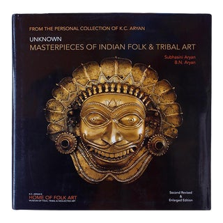 """""""Unknown Masterpieces of Indian Folk & Tribal Art"""" Coffee Table Book For Sale"""