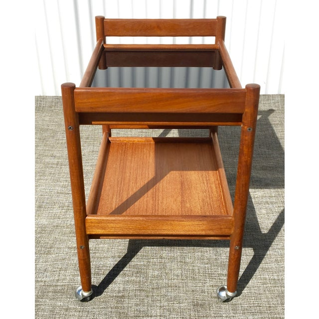 Mid-Century Modern Bar Cart - Image 3 of 4