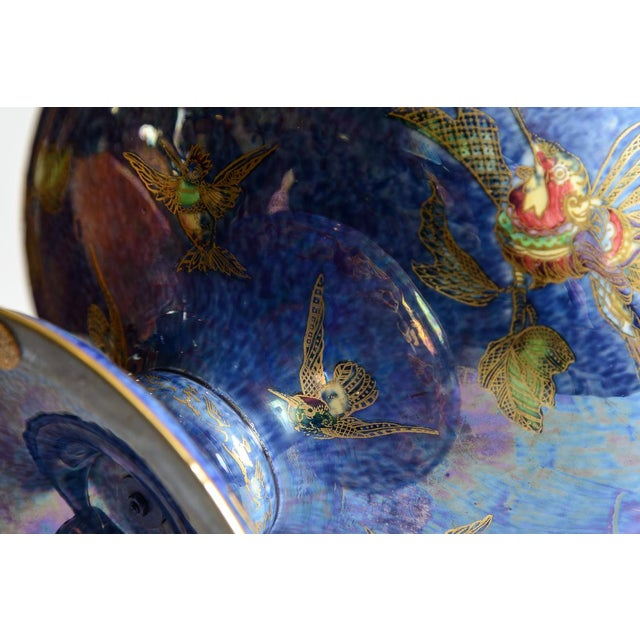 "Wedgwood Wedgewood ""Fairyland"" Lustre Bowl For Sale - Image 4 of 9"