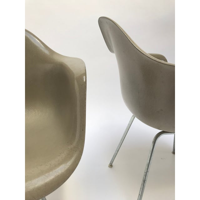 Vintage Eames Armchairs for Herman Miller - a Pair For Sale - Image 10 of 11