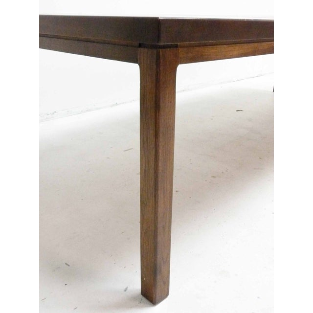 Milo Baughman-Attributed Parsons Dining Table - Image 7 of 9