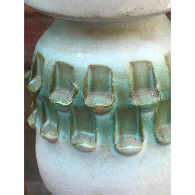 Ceramic 1960s Figurative Fratelli Fanciullacci Pottery Sgraffito Vase For Sale - Image 7 of 8