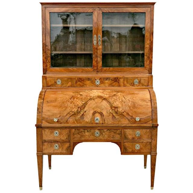 18th Century Louis XVI Period Bureau À Cylindre Cylinder Secretary Desk For Sale