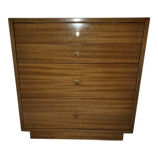 1950s Mid-Century Modern Harvey Probber Mahogany Bedroom Chest For Sale