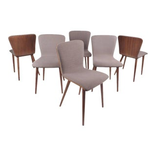 Mid-Century Modern Style Dining Chairs - Set of 6