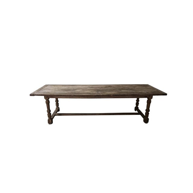 Antique Oak Dining Table For Sale - Image 10 of 10