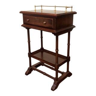 Vintage Ethan Allen Wood Accent Table