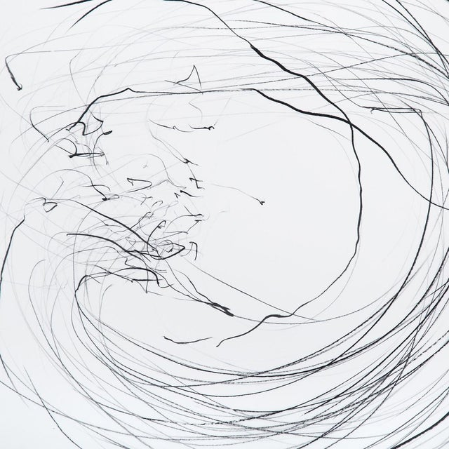 """Abstract Jaanika Peerna """"Small Maelstrom (Ref 854)"""", Drawing For Sale - Image 3 of 4"""