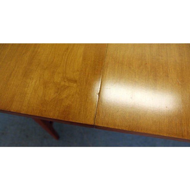 Mid-Century Modern Paul McCobb Planner Group Drop Leaf Dining Table For Sale - Image 10 of 12