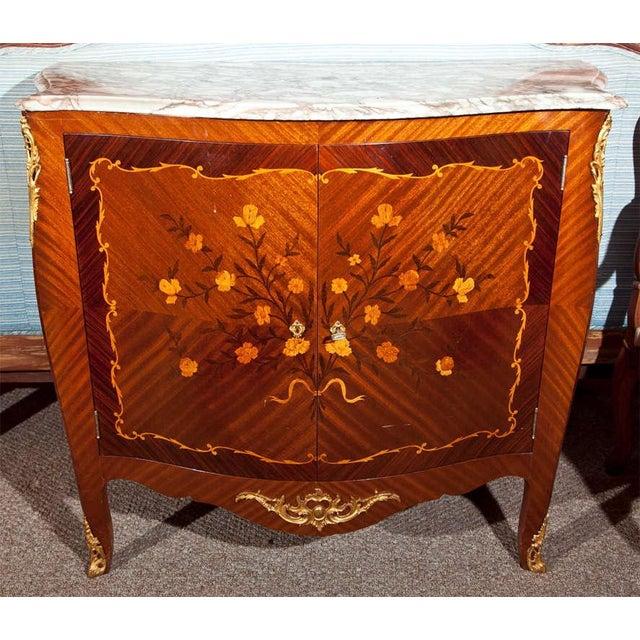 French Style Mahogany Bar Cabinet - Image 3 of 10