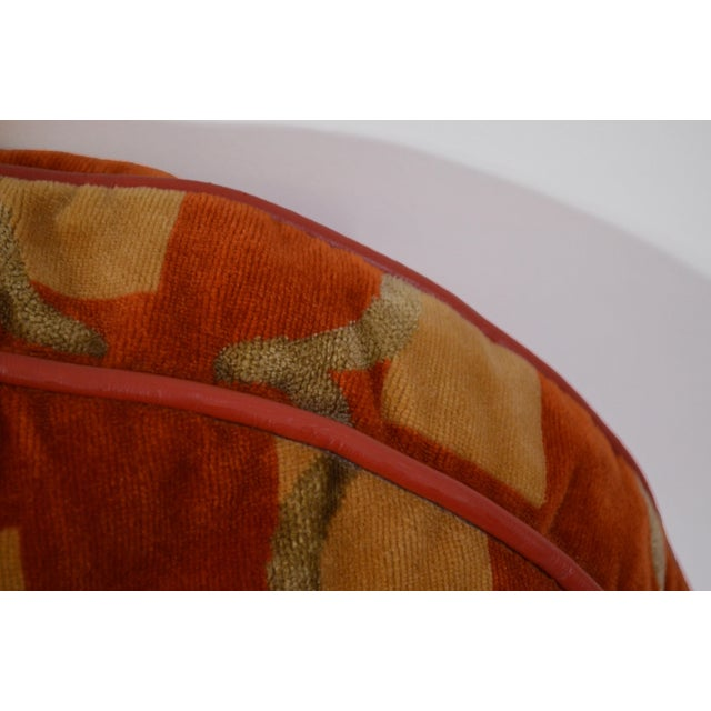 2000 - 2009 Custom Made Autumnal Tone Pillows - Set of 4 For Sale - Image 5 of 6