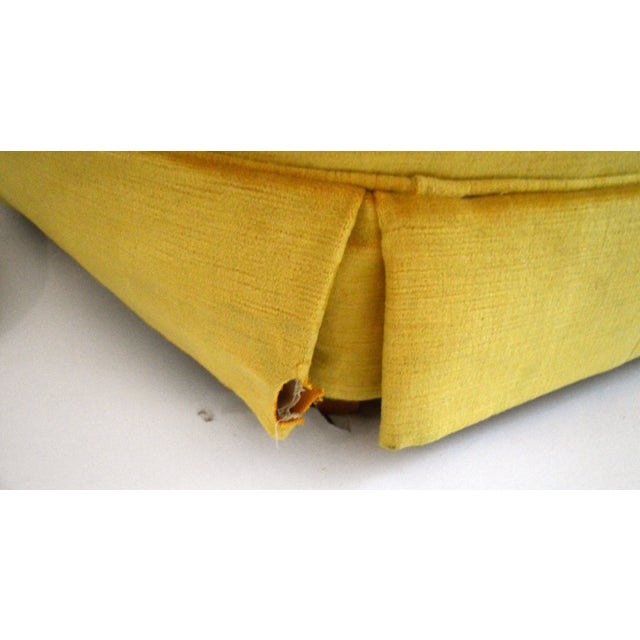 Vintage Yellow Tufted Sofa - Image 6 of 6