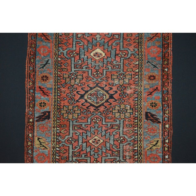 "Islamic Antique Persian Karaja Rug - 3'1"" x 4'3"" For Sale - Image 3 of 11"