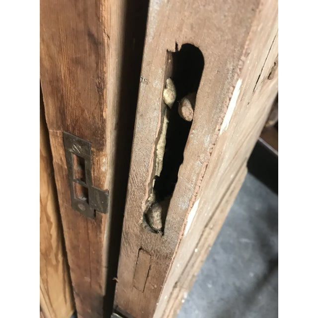 19th Century Antique Victorian Pine Doors-a Pair For Sale - Image 11 of 13