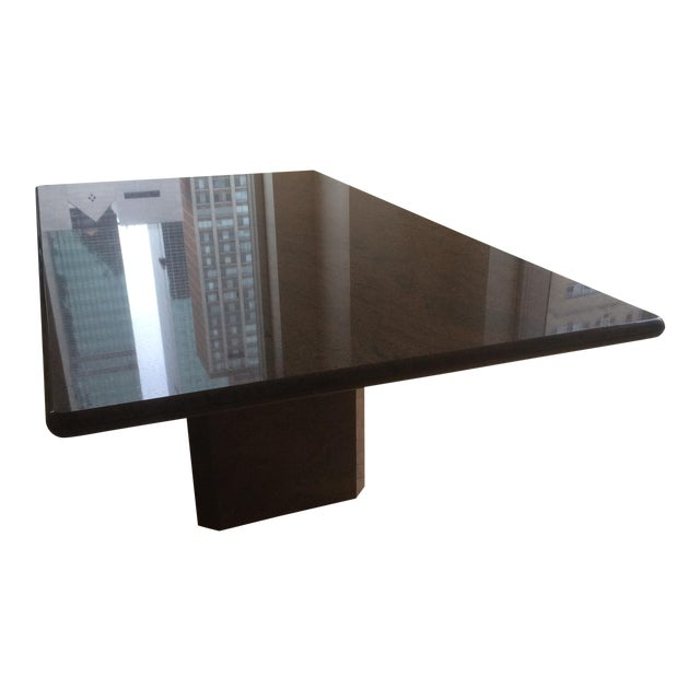 Modern Marble Dining Table - Image 1 of 5