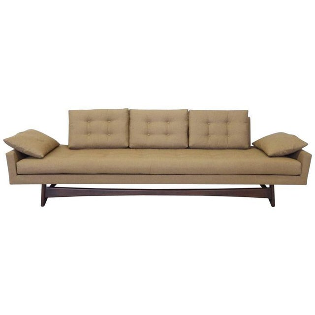 Adrian Pearsall Craft Associates Large Gondola Sofa For Sale In Detroit - Image 6 of 6
