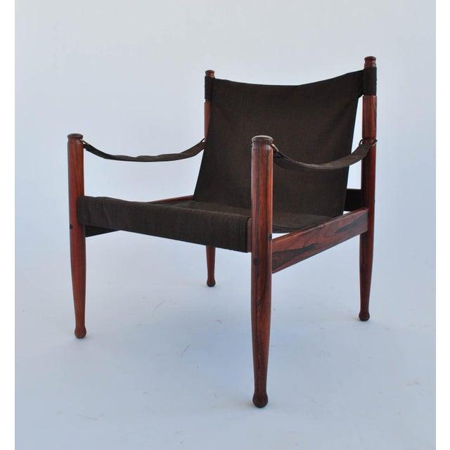 Erik Worts Rosewood Safari Sling Chair - Pair - Image 2 of 10