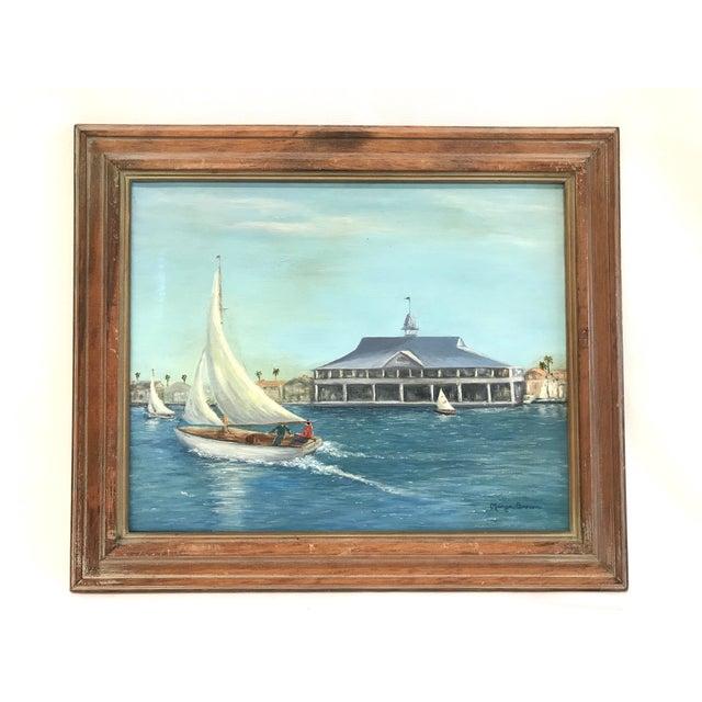 Balboa Pavillion Newport Beach Painting - Image 2 of 9