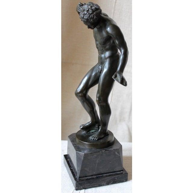 Dancing Satyr Bronze Figure - Image 3 of 8