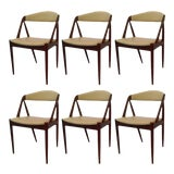 Image of Kai Kristiansen Model 31 Dining Chairs, 1960s - Set of 6 For Sale