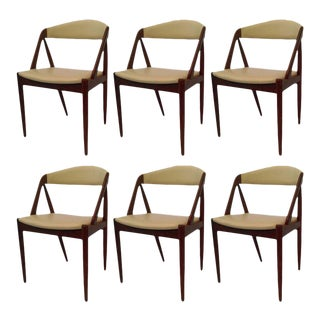 Kai Kristiansen Model 31 Dining Chairs, 1960s - Set of 6