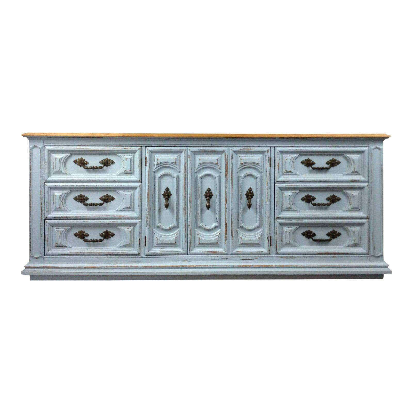 logo shot cobalt a of buffet dresser and feathers furniture emerald distressed iris blue turquoise green art the