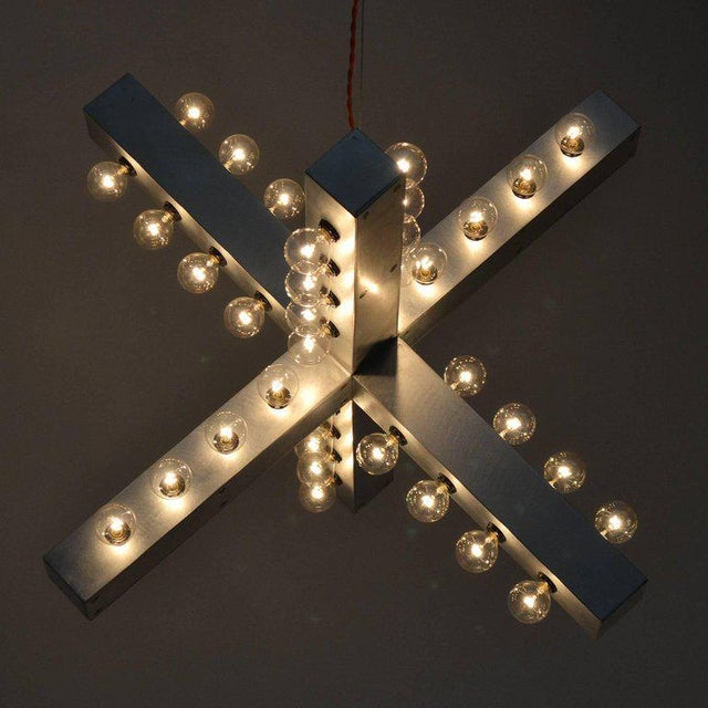 Aluminum Intersection Lamp by Downtown For Sale - Image 7 of 11