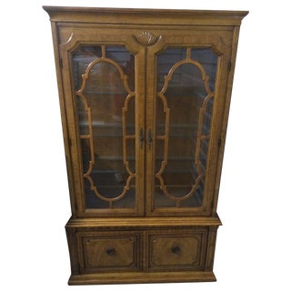 Thomasville Vintage China Cabinet