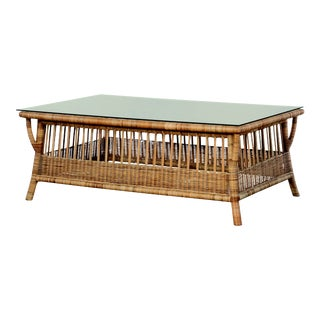 Century Furniture Breakers Cocktail Table - Natural For Sale