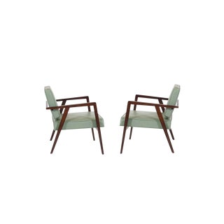 Franco Albini Lounge Chairs in Original Upholstery for Knoll, 1952 - a Pair For Sale