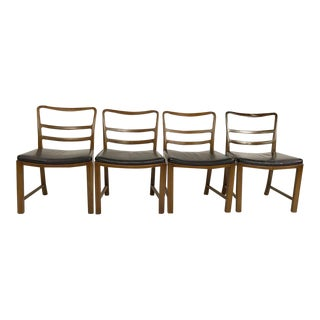 Set of 4 Dining Chairs by Dunbar For Sale