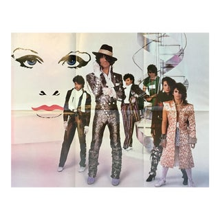 Vintage 1984 Prince Purple Rain Poster