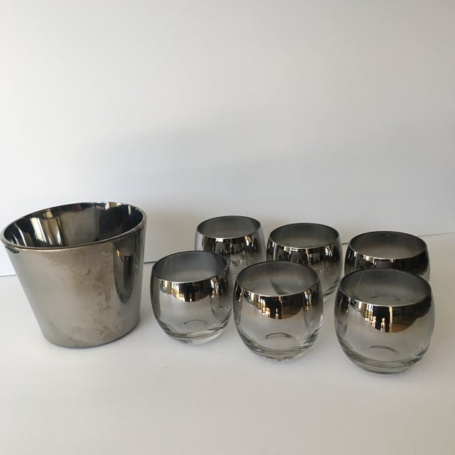Mid-Century Vitreon Queens Lusterware Set - Set of 7 For Sale - Image 9 of 9