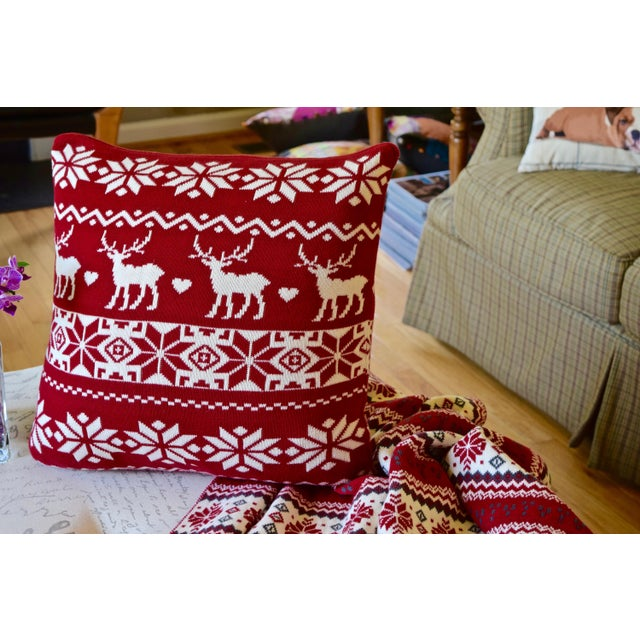 Winter Collection Holiday Decorative Pillow - Image 2 of 2
