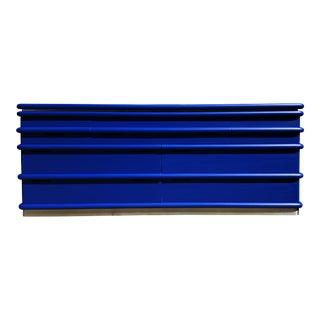 A Postmodern Blue Klein Jay Spectre Dresser / Credenza For Sale