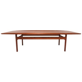 Grete Jalk for Poul Jeppesen Danish Teak Coffee Table, Circa 1960s For Sale