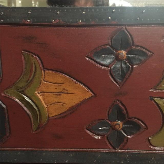 Vintage Wood Mirror - Image 8 of 8